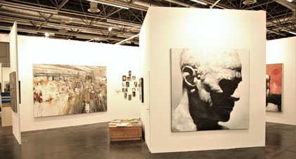 Stand Galerie Dock Sud, ArtFair Cologne 2016.
