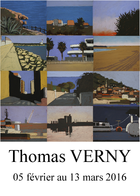 thomas Verny exposition galerie Dock Sud
