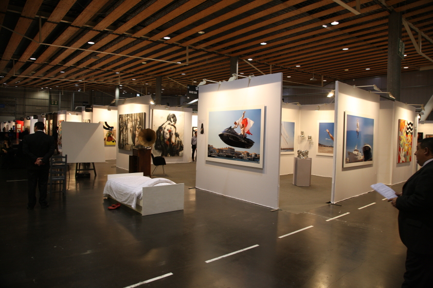 Stand de Dock Sud Chine - Lille Art Fair 2013
